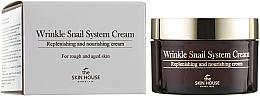 Kup Przeciwzmarszczkowy krem ze śluzem ślimakiem - The Skin House Wrinkle Snail System Cream