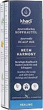 Kup Ajurwedyjski olejek do skóry głowy - Khadi Ayurvedic Scalp Oil Neem Harmony