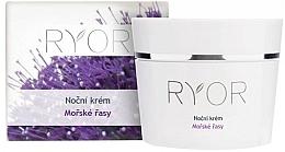 Kup Krem do twarzy na noc - Ryor Night Cream Marine Algae