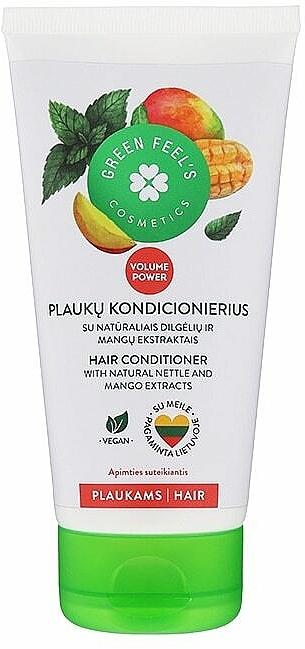 Odżywka do włosów z ekstraktem z mango i pokrzywy - Green Feel's Hair Conditioner With Natural Nettle & Mango Extracts — фото N1
