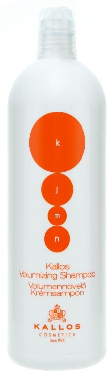 Szampon do włosów cienkich zwiększający objętość - Kallos Cosmetics Volumizing Shampoo