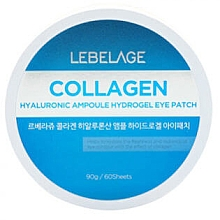 Kup Hydrożelowe płatki na oczy - Lebelage Collagen Hyaluronic Ampoule Hydrogel Eye Patch
