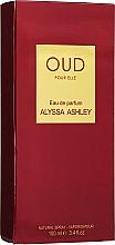Alyssa Ashley Oud Pour Elle - Woda perfumowana — фото N2