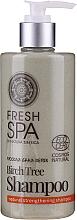Kup Szampon wzmacniający - Natura Siberica Fresh Spa Russkaja Bania Detox Birch Tree Shampoo