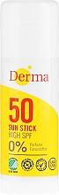 Kup Sztyft przeciwsłoneczny do ciała i twarzySPF 50 - Derma Sun Sun Stick