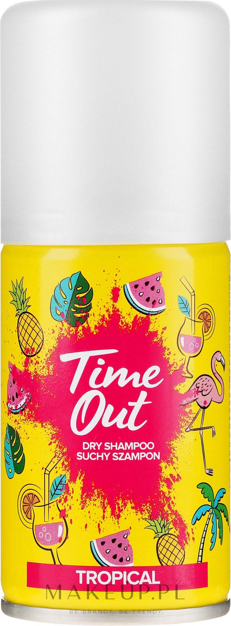 Suchy szampon do włosów Tropikalny - Time Out Tropical — фото 75 ml