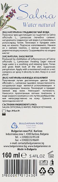 Hydrolat z szałwią - Bulgarian Rose Aromatherapy Hydrolate Salvia Spray — фото N3