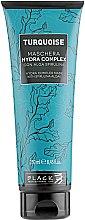 Kup Nawilżająca maska do włosów ze spiruliną - Black Professional Line Turquoise Hydra Complex Mask