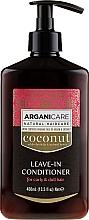 Kup Odżywka bez spłukiwania do włosów kręconych - Arganicare Coconut Leave-In Conditioner For Curly & Dull Hair