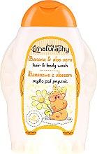 Kup Bananowe mydło pod prysznic do włosów i ciała dla dzieci z aloesem - Bluxcosmetics Naturaphy