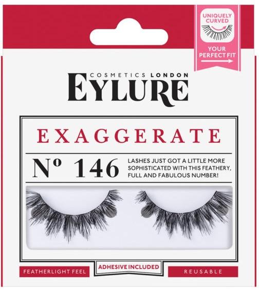 Sztuczne rzęsy №146 - Eylure Exagerrate — фото N1