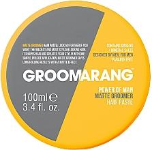 Kup Woskowa pasta do stylizacji włosów z matowym efektem - Groomarang Power Of Man Matte Groomer Hair Paste