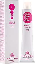 Kup PRZECENA! Profesjonalna kremowa farba do włosów - Kallos Cosmetics KJMN Cream Hair Colour *