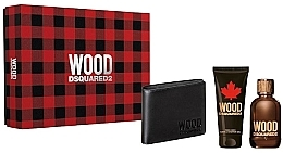 Kup Dsquared2 Wood Pour Homme - Zestaw (edt 100 ml + sh/gel 100 ml + wallet)