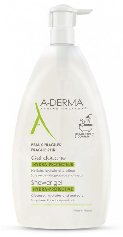 Żel pod prysznic - A-Derma Hydra-Protective Shower Gel — фото N1