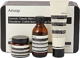 Kup Zestaw - Aesop Quench Classic Skin Care Kit (toner/100ml + cream/100ml + cream/60ml)
