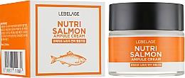 Kup Odżywczy krem z olejem z łososia - Lebelage Ampule Cream Nutri Salmon