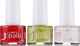 Kup Zestaw do paznokci - Snails Festive Mini (nail/polish 3 x7 ml)