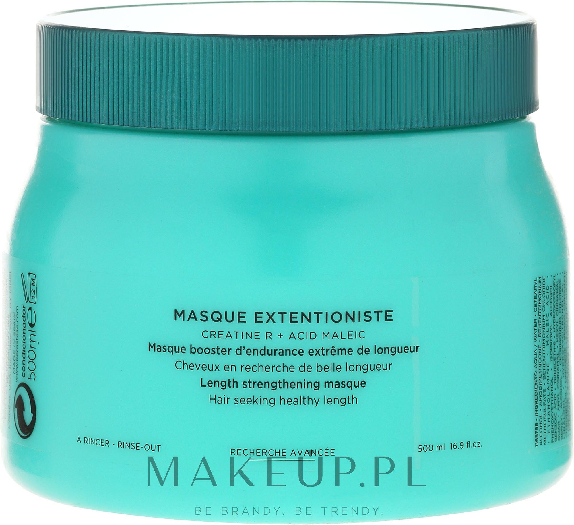 Wzmacniająca maska do długich włosów - Kérastase Resistance Masque Extentioniste — фото 500 ml