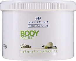 Kup Peeling do ciała z wanilią - Hristina Professional Vanilla Body Peeling
