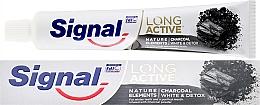 Kup PRZECENA! Pasta do zębów - Signal Long Active Nature Elements Charcoal *