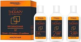 Kup Zestaw do pielęgnacji włosów - Prosalon Hot Therapy (mask/50ml + shm/50ml + cond/50ml)