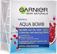 Kup Regenerujący żel-krem o działaniu antyoksydacyjnym na noc do skóry odwodnionej - Garnier Aqua Bomb Night Cream