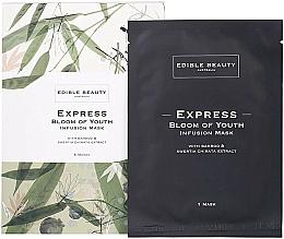 Kup Maseczka do twarzy Bambus i niebielistka - Edible Beauty Bloom of Youth Infusion Mask 5-Pack
