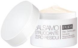 Kup Balsam do demakijażu twarzy, oczu i ust do skóry wrażliwej - Pupa Balsamo Struccante Zero Residui Pelli Delicate