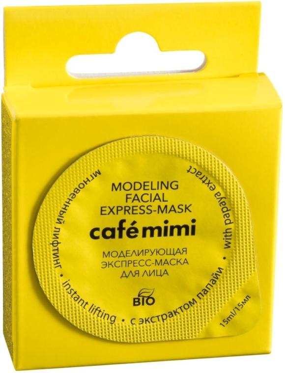 Ekspresowa maska modelująca do twarzy - Café Mimi
