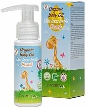 Kup Organiczny olejek brzoskwiniowy dla dzieci - Azeta Bio Organic Baby Peach Oil Inca Inchi