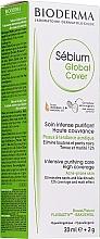 Kup Koloryzujący krem przeciwtrądzikowy z korektorem punktowym - Bioderma Sébium Global Cover Cream