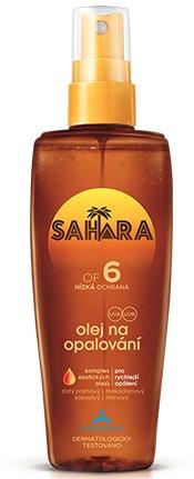 Olejek w sprayu do opalania SPF 6 - Astrid Sahara Suncare Spray Oil — фото N1