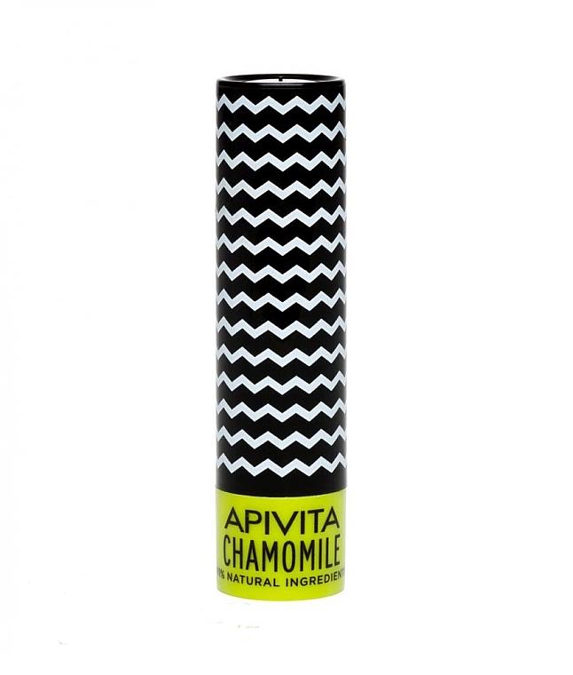 Naturalny balsam do ust Rumianek SPF 15 - Apivita Lip Care with Chamomile — фото N1