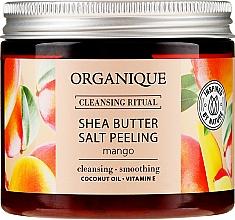 Kup Oczyszczający peeling solny do ciała z masłem shea Mango - Organique Cleansing Ritual