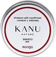 Kup Szampon do włosów 2 w 1, w metalowym opakowaniu - Kanu Nature Shampoo With Conditioner Shampoo Bar Mango
