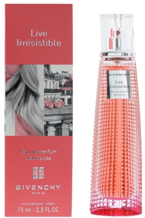 Givenchy Live Irresistible Delicieuse Eau de Parfum - Woda perfumowana