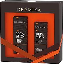 Kup Zestaw dla mężczyzn - Dermika 100% For Men (f/cr 50 ml + eye/cr 15 ml)