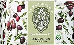 Kup Naturalne mydło do rąk w kostce Kwiat oliwki - Florinda Olive Flowers Soap