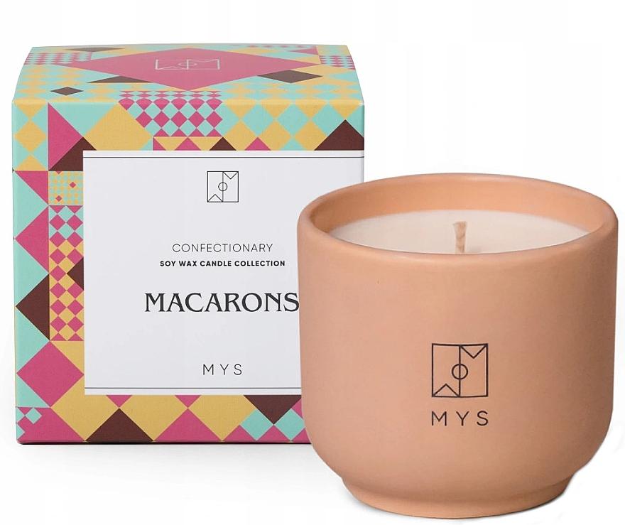 Sojowa świeca Makaroniki - Mys Macarons Candle — фото N1