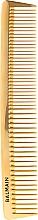Kup Profesjonalny złoty grzebień do strzyżenia włosów - Balmain Paris Hair Couture Golden Cutting Comb