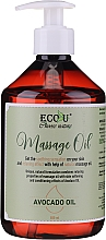Kup Olejek do masażu z olejem awokado - Eco U