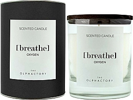 Kup Świeca zapachowa - Ambientair The Olphactory Black Design Breathe Oxygen