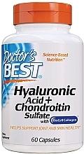 Kup Kwas hialuronowy z siarczanem chondroityny i kolagenem na zdrowe stawy - Doctor's Best Hyaluronic Acid with Chondroitin Sulfate Capsules