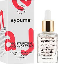 Kup Nawilżający olejek do twarzy - Ayoume Moisturizing & Hydrating Face Oil With Olive