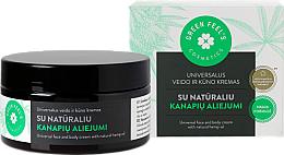 Kup Uniwersalny krem do twarzy i ciała z naturalnym olejem konopnym - Green Feel's Universal Face And Body Cream