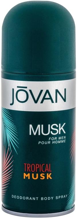 Jovan Tropical Musk - Perfumowany dezodorant w sprayu — фото N1