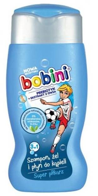 Szampon, żel i płyn do kąpieli Super piłkarz - Bobini — фото N1
