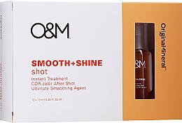 Kup PRZECENA! Nabłyszczający koncentrat wygładzający do włosów - Original & Mineral Smooth + Shine Instant Shot Treatment *