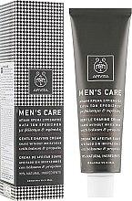 Kup Delikatny krem do golenia Dziurawiec i propolis - Apivita Men Men's Care Gentle Shaving Cream With Hypericum & Propolis